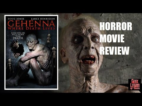 GEHENNA : WHERE DEATH LIVES ( 2016 Doug Jones ) Horror Movie Review