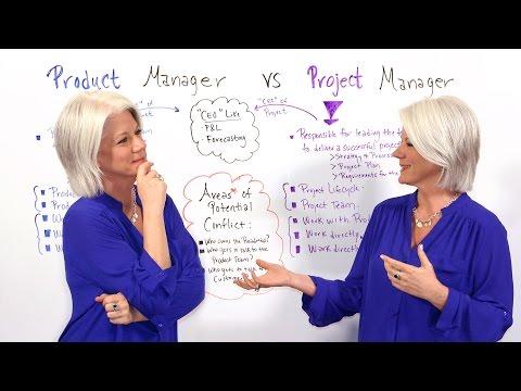 Product Manager vs Project Manager - Project Management Training