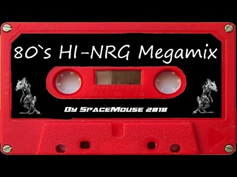 VA - 80`s HI-NRG Megamix (By SpaceMouse) [2018]