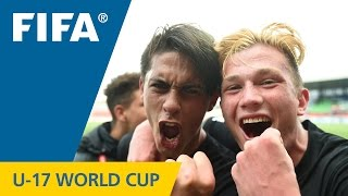 A sensational late winner settled this entertaining U-17 World Cup contest between the Kiwis and the Paraguayans. MORE FIFA U-17 WORLD CUP MATCH HIGHLIGHTS: ...