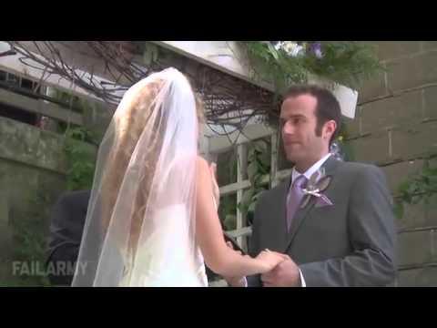 Απίστευτα fail σε γάμους