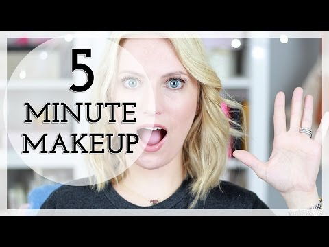 5 minute - Hey guys! Today I'm going to share with you how I get my makeup on for a typical work day in less than 5 minutes, with a realtime countdown! I hope you enjoy, if you like, please give this...