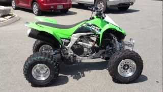 5. 2013 Kawasaki KFX450R In Lime Green At Tommy's MotorSports