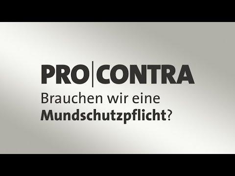 Pro und Contra: Brauchen wir eine Mundschutzpflicht?