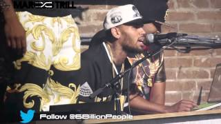 Chris Brown Perform Top Hits Live | Shot by @6BillionPeople