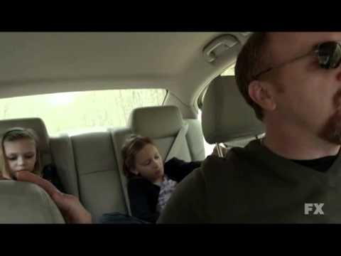 "Louie ""Who are you"" car scene Season 2 Episode 5"