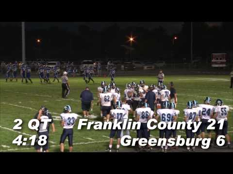 Franklin County vs Greensburg Football 2014
