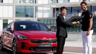 You Should Know !!! Kia Awards Rafael Nadal A Stinger GT As His New Company Car