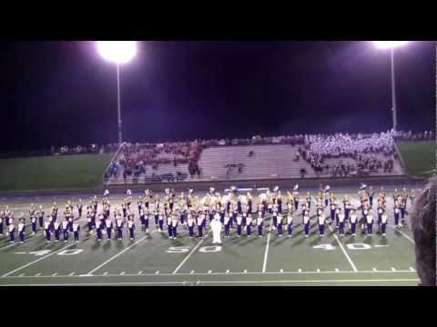 Jackson High School Marching Band - Massillon, OH 9/8/2012