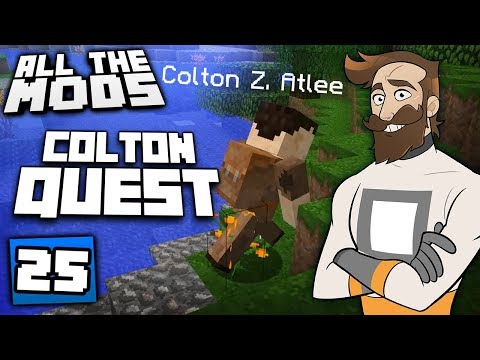 Minecraft All The Mods #25 - ColtonQuest (видео)