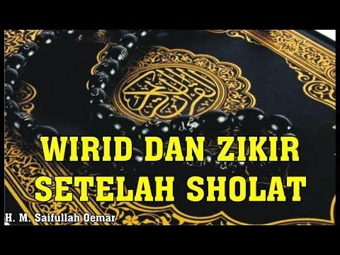 Wirid Dan Zikir Setelah Sholat (dengan Latin Dan Artinya)