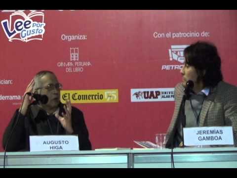 Augusto Higa presentó en la Feria del Libro de Lima su novela Gaijin