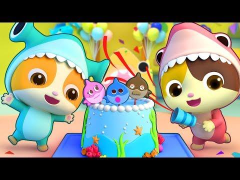 Sinh nhật đặc biệt của mèo con Timi   Happy Birthday song   Nhạc thiếu nhi vui nhộn   BabyBus