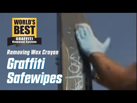 Wax Crayon off Pole # 2
