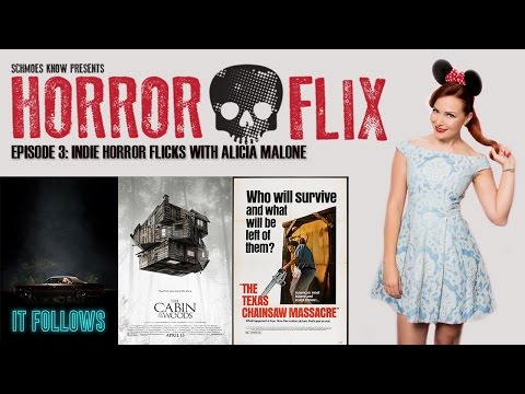 HorrorFlix – Ep #3: Indie Horror Flicks With Alicia Malone