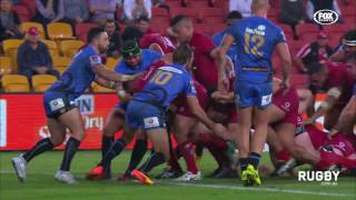 Reds v Force Rd.14 Super Rugby Video Highlights 2017