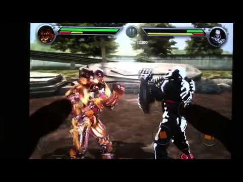 Real Steel Albino vs Zeus Real Steel Atom And Zeus