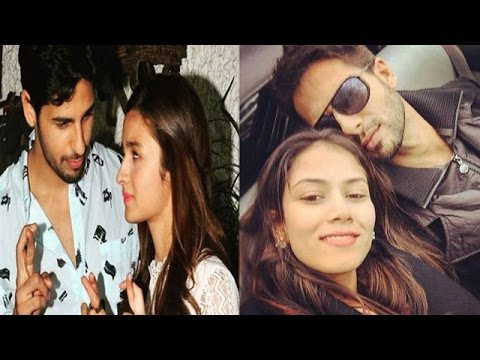 Alia Spends Time With Sidharth | Shahid & Mira Con
