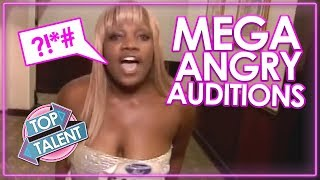 Video MEGA ANGRY! ANGRIEST AUDITIONS EVER on Got Talent, X Factor & Idols   Top Talents MP3, 3GP, MP4, WEBM, AVI, FLV Maret 2019