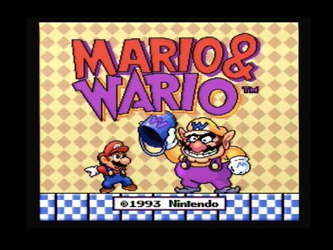 Mario and Wario Super Nintendo