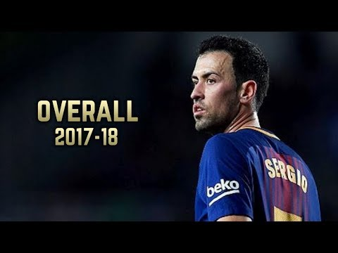 Sergio Busquets - Overall 2017-18 | Best Dribbling & Defensive Skills