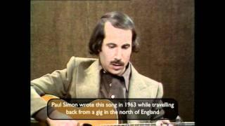 Paul Simon sings Homeward Bound live in the studio