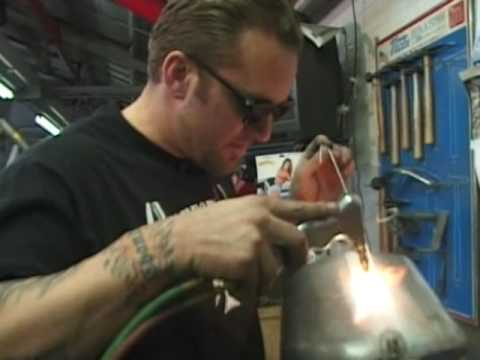 Jesse James -  Custom Gas Tank -  Motorcycle Mania