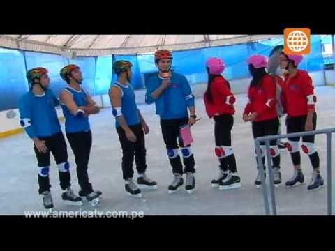 Esto es Guerra: Iceland Park - patinaje sobre hielo