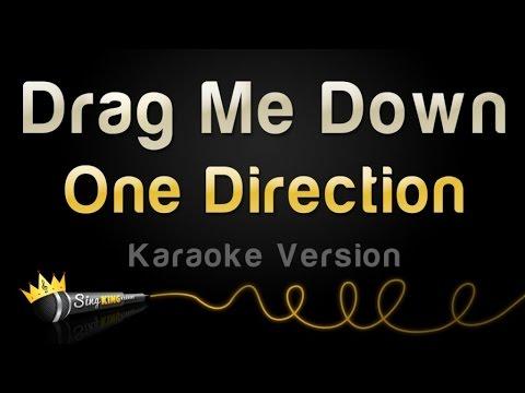 One Direction - Drag Me Down (Karaoke Version)
