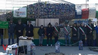 Saluto della Bottiglia Eco-Solidale a Valdobbiadene