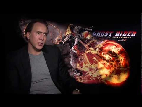 Ghost Rider: Spirit of Vengeance: Official Sit Down Interview Nicolas Cage [HD]