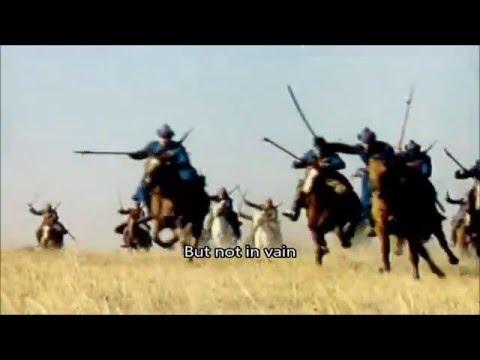 Шел отряд по берегу - Shel otryad po beregu - Песня о Щорсе - Song about Shchors
