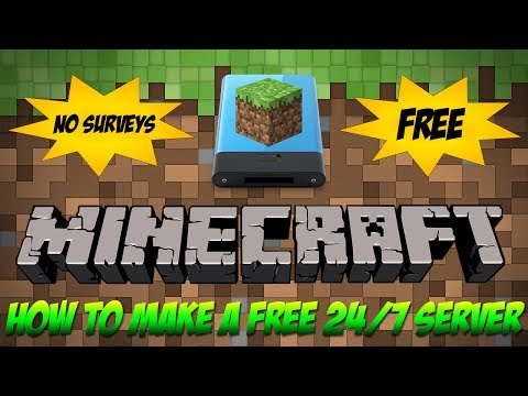How To Get A Free 24/7 Minecraft Server Host [1.8] [2014]