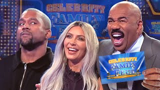 Video Kim & Kanye and the Kardashians Clash! All the CRAZIEST MOMENTS!!! | Celebrity Family Feud MP3, 3GP, MP4, WEBM, AVI, FLV Januari 2019