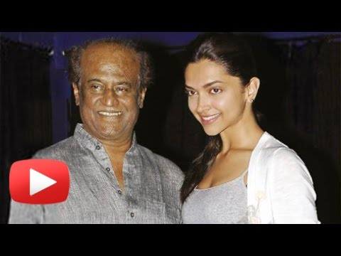 Deepika Padukone And Rajinikanth Reunite For Their