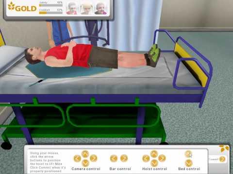 Video of Mechanical Hoist Training Sim