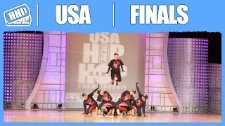 North Hollywood (CA) United States  city images : Mix'D Elements - North Hollywood, CA (Gold Medalist/Adult) @2013 USA Hip Hop Dance Championship
