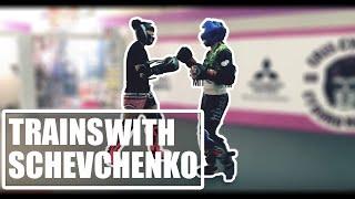 Video Cris Cyborg trains with Valentina Shevchenko (Bullet Muay Thai) ahead of UFC 232 MP3, 3GP, MP4, WEBM, AVI, FLV November 2018