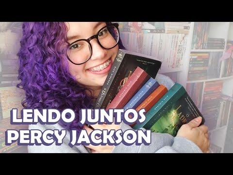? PROJETO DE LEITURA: VAMOS LER PERCY JACKSON! feat @Jéssica Lopes  || Romanceira