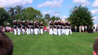 Nyack (NY) United States  City pictures : Marine silent drill team Nyack New York, 20110910