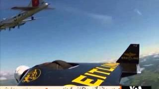 Jetman flew on United States sky with his  manufactured wings
