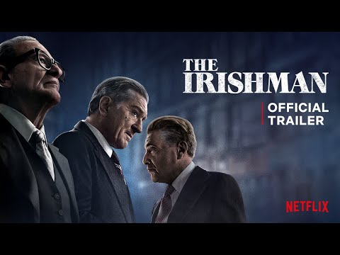 The Irishman Official Trailer Netflix