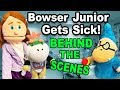 SML Movie: Bowser Jr Gets Sick BTS!