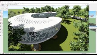 Video SKETCHUP || SHAPE BENDER || SPEED MODELING || CURVE FORMS || MUSEUM || MP3, 3GP, MP4, WEBM, AVI, FLV Desember 2017