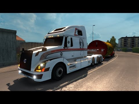Volvo VNL670 v1.5.2 by Aradeth [ETS2 v1.27]
