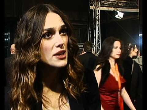 Keira Knightley at the British Academy Awards