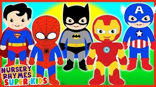 Video Collection The Super Heroes | Nursery Rhymes and Kids Songs | Finger Family Song MP3, 3GP, MP4, WEBM, AVI, FLV November 2018