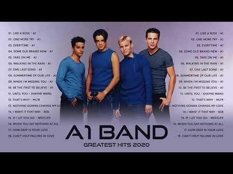 A1 Greatest Hits Full Album 2020 - Best Songs of A1 Band - A1 Collection HD HQ