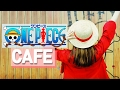 Korean cafe series 01: One Piece cafe! Eating Devil fruits in Thousand Sunny Ship  l  WooLara