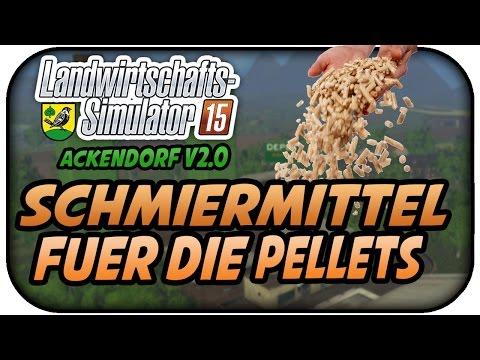 SCHMIERMITTEL FÜR DIE PALLETPRODUKTION #007 - LS15 ACKENDORF V2.0 ★Let's Play Farming Simulator